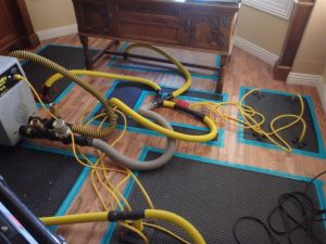 InjectiDRY System to dry floors