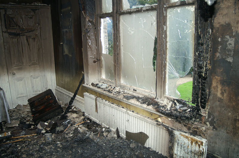 house fires damage