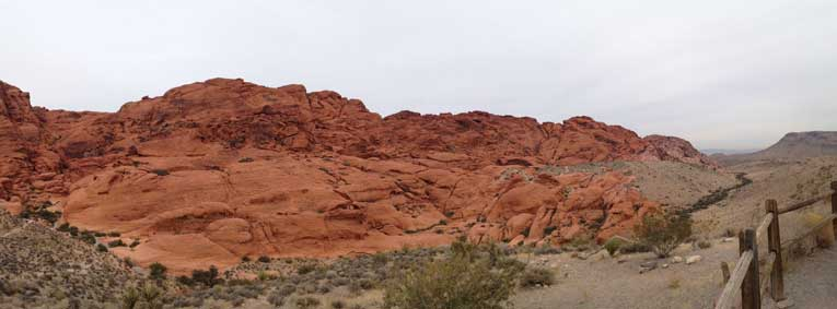 Beautiful View of Red Rock Canyon