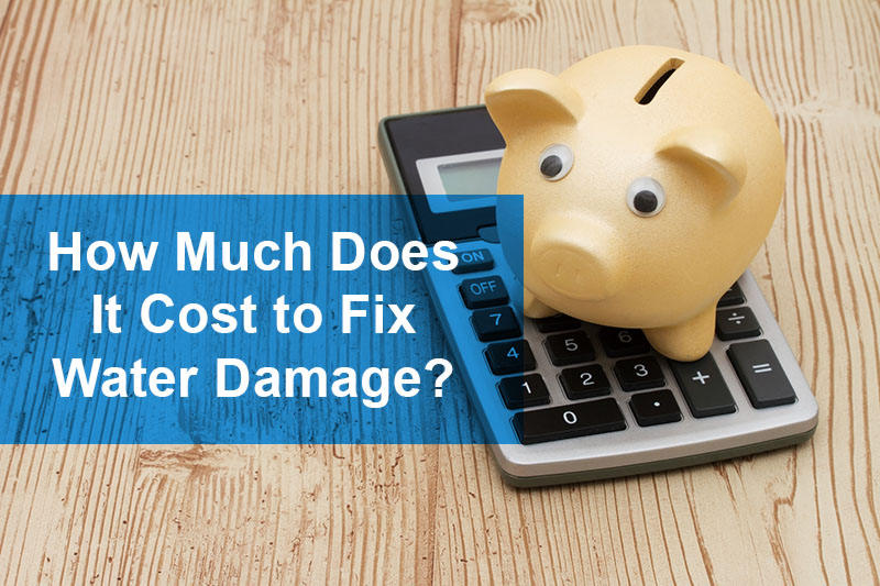How Much Does It Cost to Fix Water Damage?